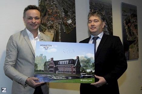 Woningbouwproject Agnietenhof Zwartsluis in stijl van 'Delftse school' gepresenteerd.