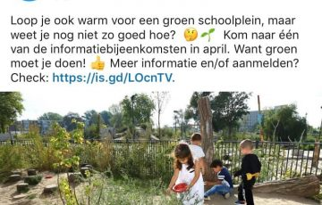 Een groen schoolplein?