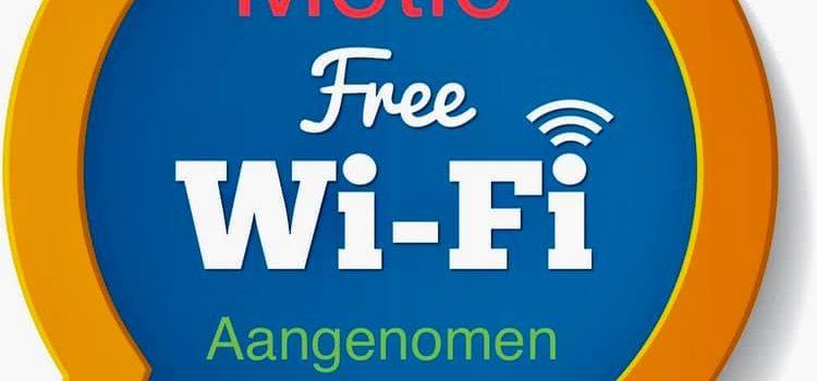 Motie Gratis WiFi in Zwartewaterland aangenomen.