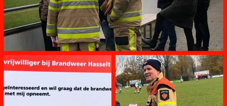 Brandweer zoekt vrijwilligers