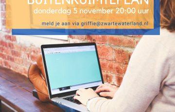Digitale informatiebijeenkomst Buitenruimte